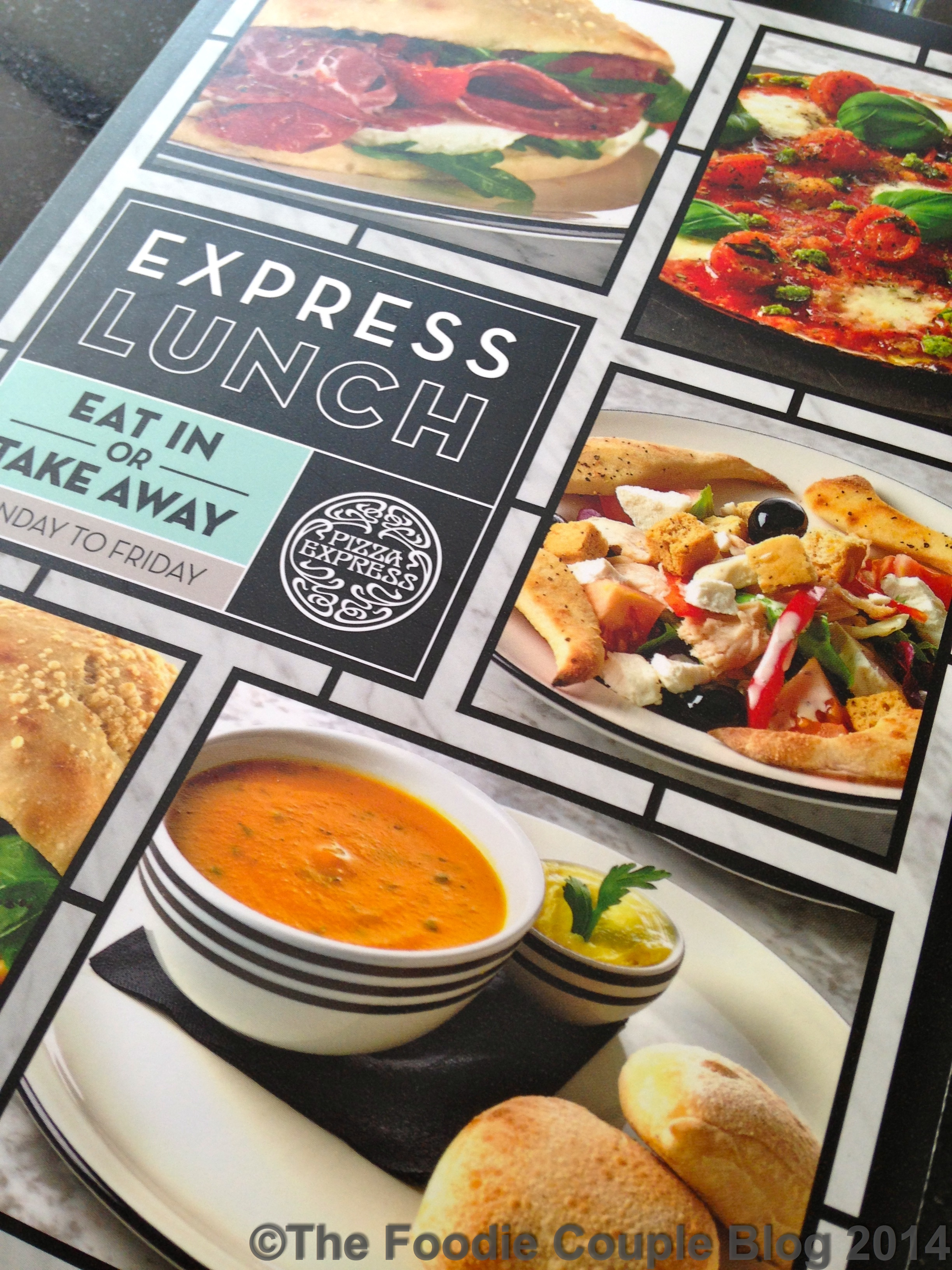 Review Pizza Express Express Lunch Menu The Foodie