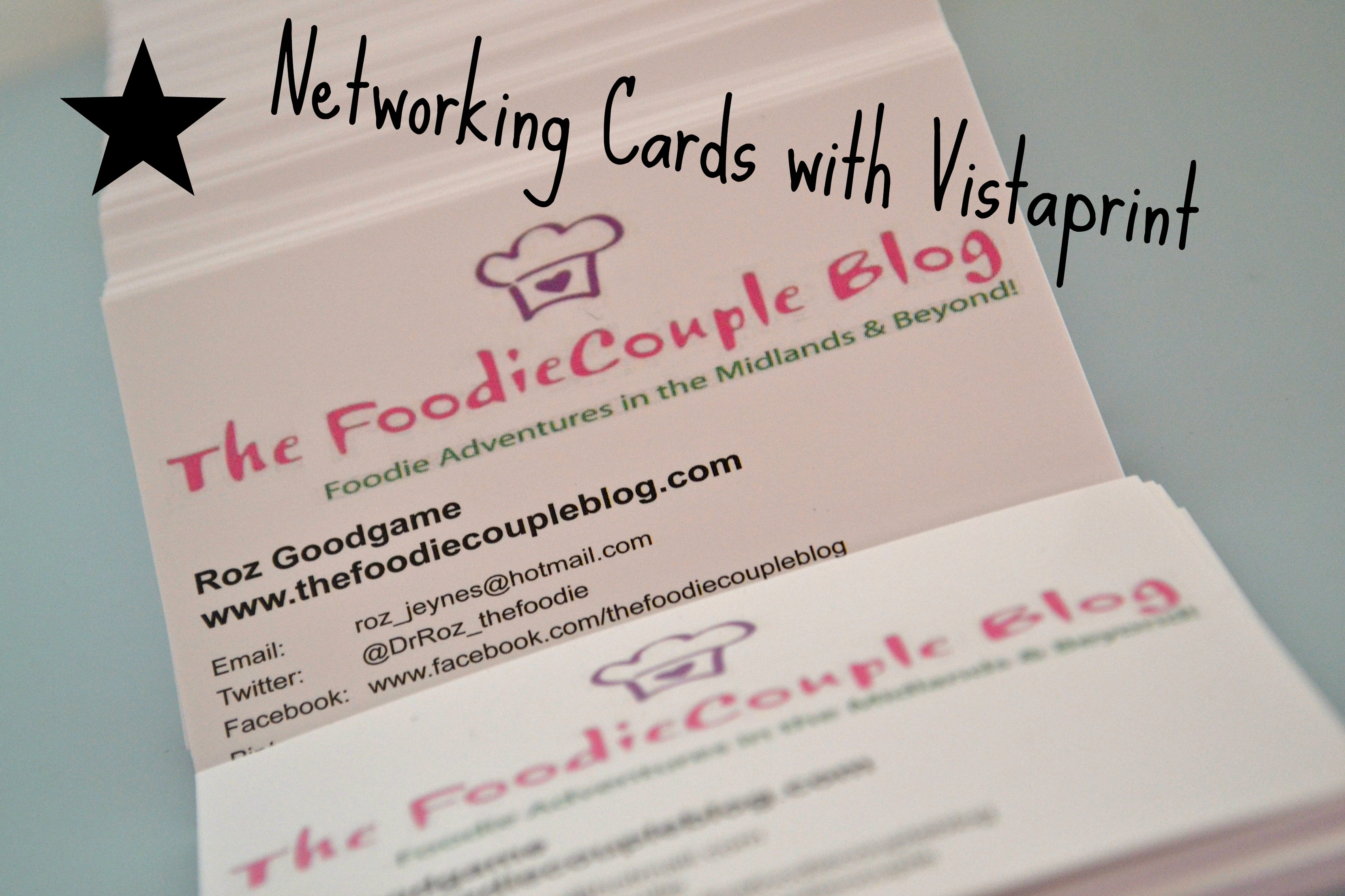 networking cards with vistaprint – the foo family blog