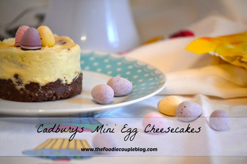 mini egg cheeseacke