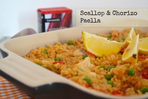 Scallop & Chorizo Paella