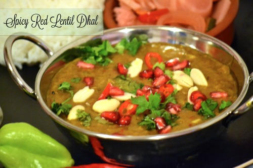 Spicy Red Lentil Dhal