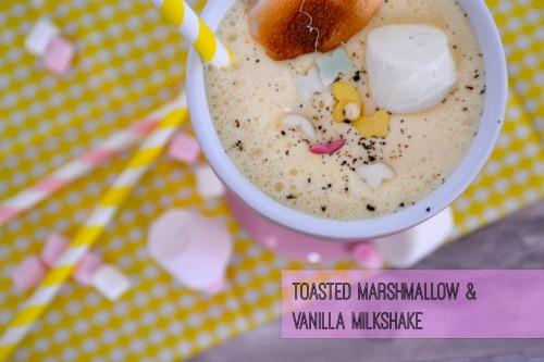 Toasted Marshmallow & Vanilla Milkshake