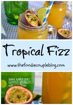 Tropical Fizz Mocktail