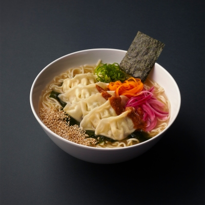 Miso Dumpling Ramen Sumo Bowl