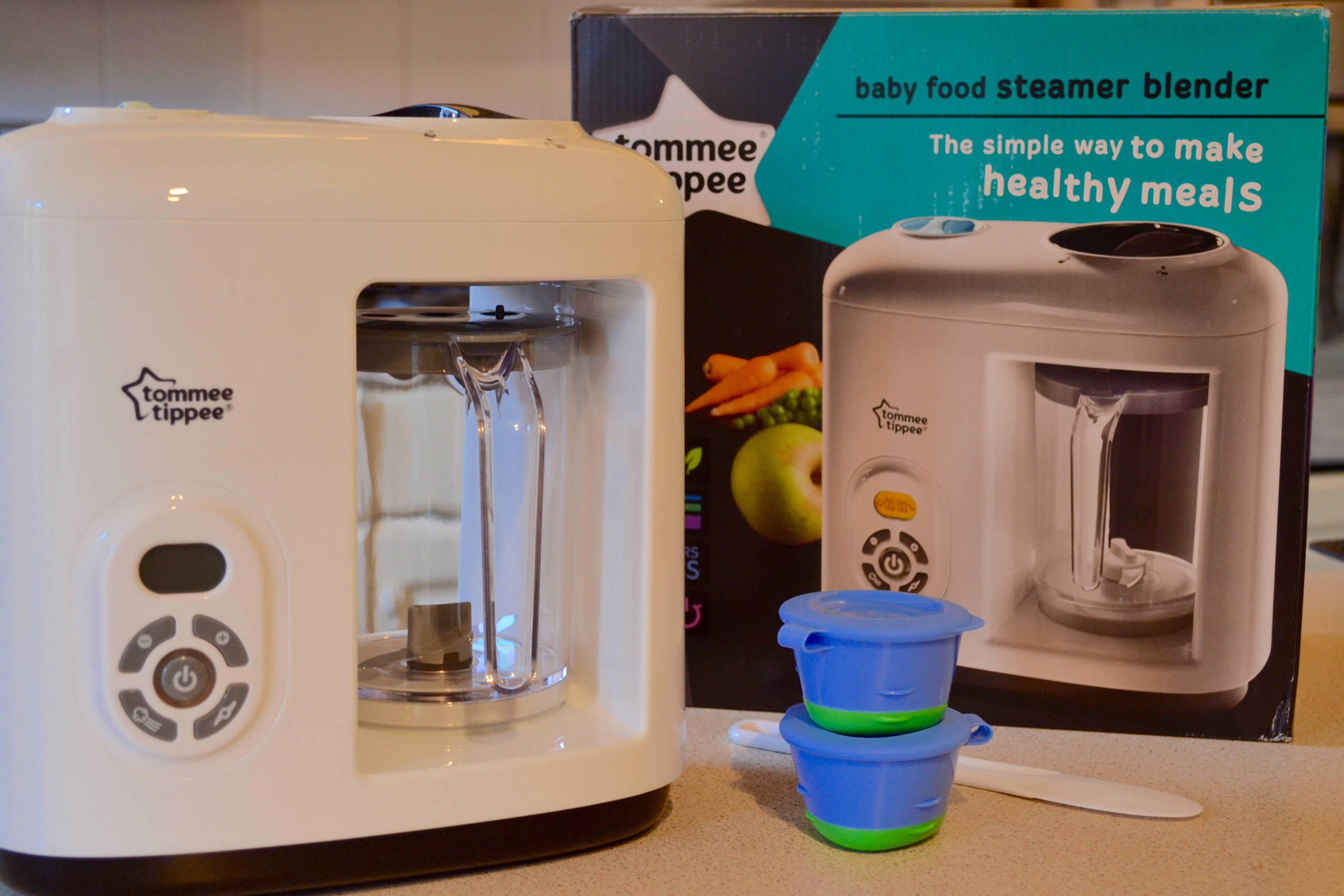 Review Tommee Tippee Steamer Blender The Foodie Family Blog